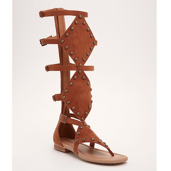 bf34292fee Studded Gladiator sandals (wide width